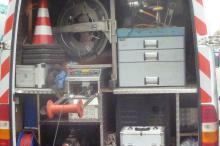 Fahrzeug für TV Kanalinspektion