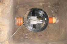 Kanalinstallationsarbeiten
